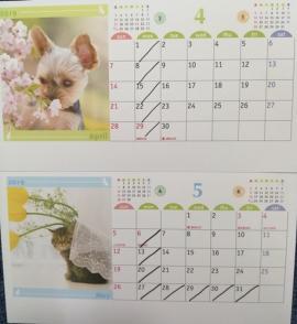 4月.5月の予定表